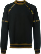 Dolce & Gabbana printed piped sweatshirt