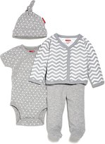 Skip Hop Unisex-Baby Starry Chevron 4 Piece Welcome Home Set