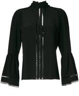 Fendi bell-shaped blouse - women - Silk/Cotton/Viscose - 42