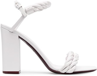 Valentino twisted strap 110mm sandals