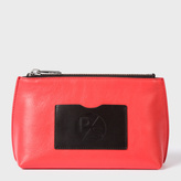Paul Smith Women's Pink Leather Make-Up Bag