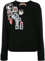 No.21 printed sweatshirt - women - Cotton - 40