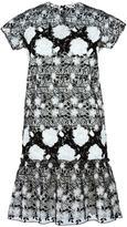 Giambattista Valli floral lace shift dress - women - Cotton/Polyester/Polyamide/Silk - 42