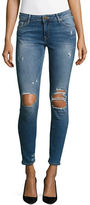 True Religion Halle Cropped Super Skinny Jeans