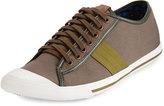 Ben Sherman Earl Lo Canvas Sneaker, Walnut