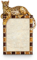 """Jay Strongwater Leopard 5"""" x 7"""" Frame"""