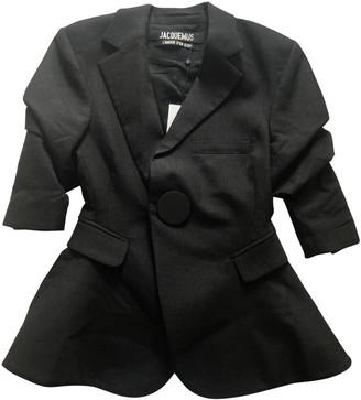 Jacquemus L'Amour d'un Gitan Grey Wool Jackets