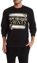 Mitchell & Ness NFL Saints Fleece Crew Neck Sweater