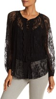 Plenty by Tracy Reese Lace Peasant Blouse