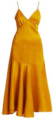 KHAITE Rini Midi Dress