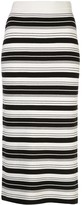 Proenza Schouler White Label striped pencil skirt