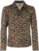 MAISON KITSUNÉ camouflage jacket