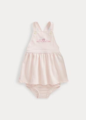 Ralph Lauren Knit Terry Dress & Bloomer