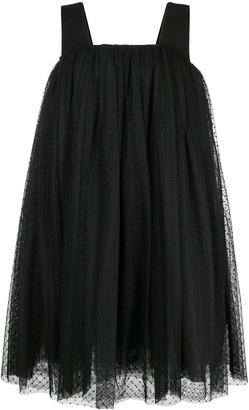 Comme des Garcons Polka Dot Tulle Dress