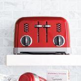 Cuisinart Stainless Steel Classic 4-Slice Toaster, Metallic Red
