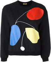 Peter Jensen cropped art sweatshirt