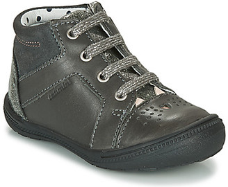 Catimini CIBELLE girls's Shoes (High-top Trainers) in Grey