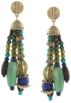 Lauren Ralph Lauren Beaded Tassel Earrings