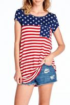 Style in the USA Stars Stripes Tee