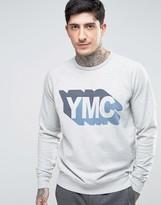 Ymc Shadow Logo Sweat