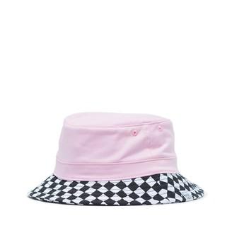 Herschel Lake Youth Bucket Hat Small/Medium Pink Lady Checker
