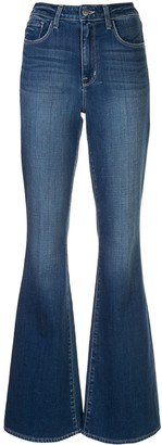 L'Agence High-Rise Flared Jeans