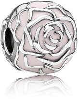 Pandora Clip - Sterling Silver & Enamel Rose Garden, Moments Collection