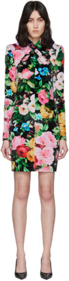 Richard Quinn Multicolor Floral Dress