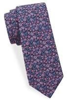 Saks Fifth Avenue Floral-Print Silk Tie