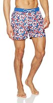 Tommy Hilfiger Men's Thdm All Over Print Swimshort 21 Swim Shorts