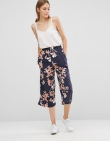 Just Female Floral Culottes