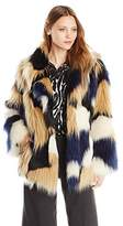 Trina Turk Women's Makayla Faux-Fur Coat