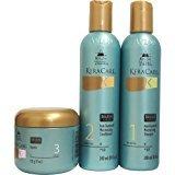 "KeraCare by Avlon Dry & Itchy Scalp Moisturizing Shampoo & Conditioner 8oz & Glossifier 3.9oz ""Set"""