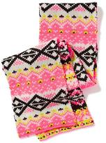 Old Navy Patterned Sweater-Knit Scarf for Girls