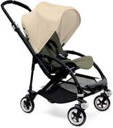 Bugaboo Bee 3 Black Frame Stroller With Dark Khaki Seat (Off-White) by