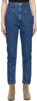 Isabel Marant Blue Padeloisasr Jeans