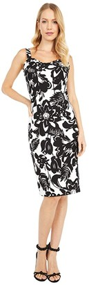 Trina Turk Zile Dress (Black/White Wash) Women's Dress