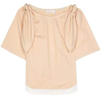Chloé Embellished cotton top