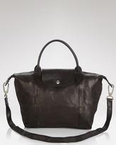 Longchamp Le Pliage Leather Cuir Small Shoulder Bag