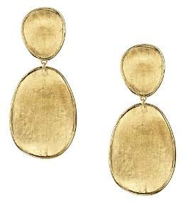 Marco Bicego 18K Yellow Gold Lunaria Two Tiered Drop Earrings