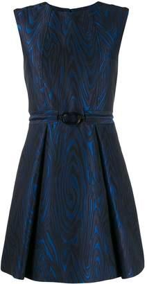 Kenzo wavy etched mini dress