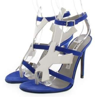 Acne Studios Blue Suede Sandals