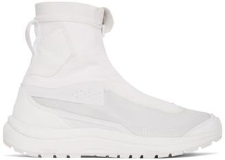 11 By Boris Bidjan Saberi White Salomon Edition Bamba2 High-Top Sneakers