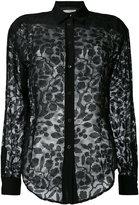 Veronique Branquinho sheer lace shirt - women - Silk/Rayon - 38