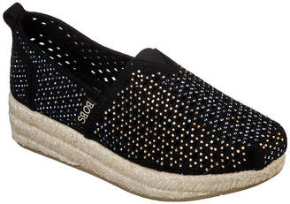 Skechers BOBS FROM  Bobs Womens Highlights Slip-On Shoe Closed Toe