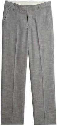 Calvin Klein Bold Dobby Dark Grey Pants (Big Boys)