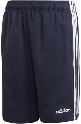 adidas Boys Essentials 3-Stripes Woven Shorts