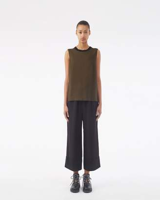 3.1 Phillip Lim Twisted-Back Tank Top