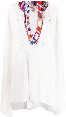 Emilio Pucci Kaftan Belted Dress
