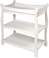 Badger Basket Sleigh Changing Table - White